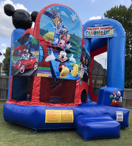 Mickey Mouse Rental Bounce House Memphis Rental